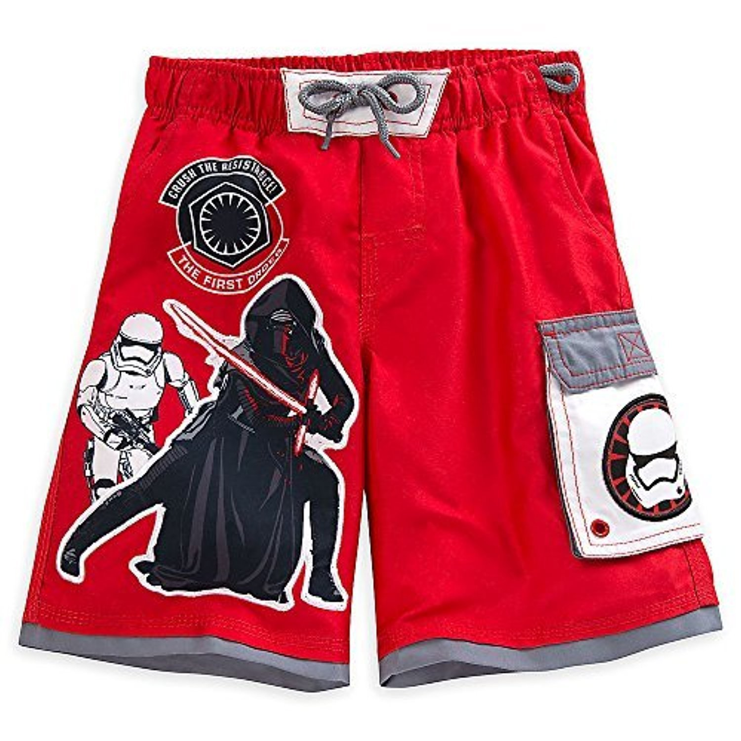 85031ee0309a4 Amazon.com: Disney Star Wars Swim Trunks for Boys: Clothing