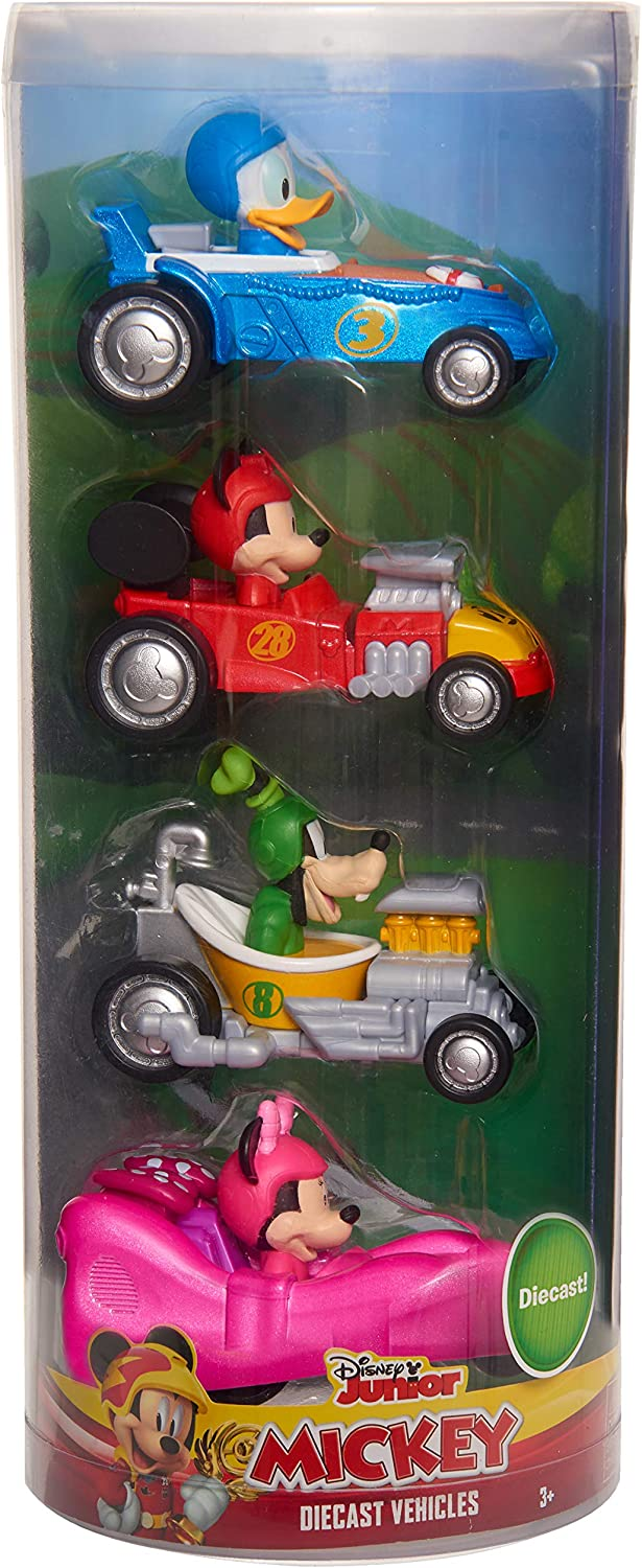 Mickey Mouse Diecast Vehicle 4-Piece Set - Amazon Exclusive