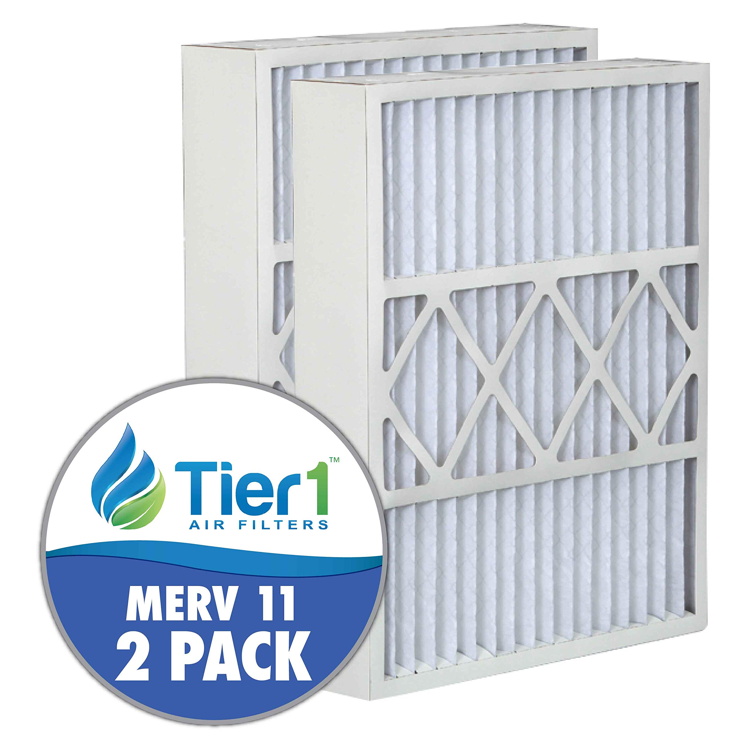 Tier1 Replacement for Electro Air 16x26x5 Merv 11 Air Filter 2 Pack