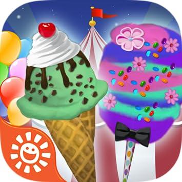 Amazoncom Circus Food Maker Game Play Free Make Candy Ice Cream