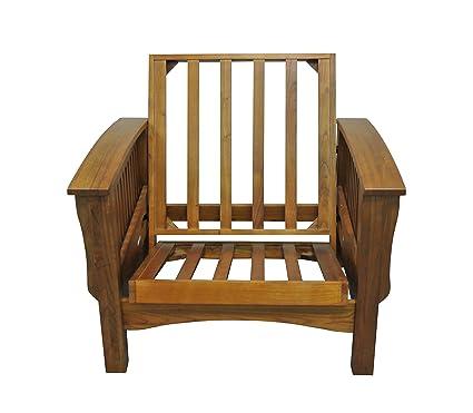 Ordinaire Gold Bond AOCRC + BO28C Manhattan Cherry Oak Futon Frame Chair, 28u0026quot;,  ...