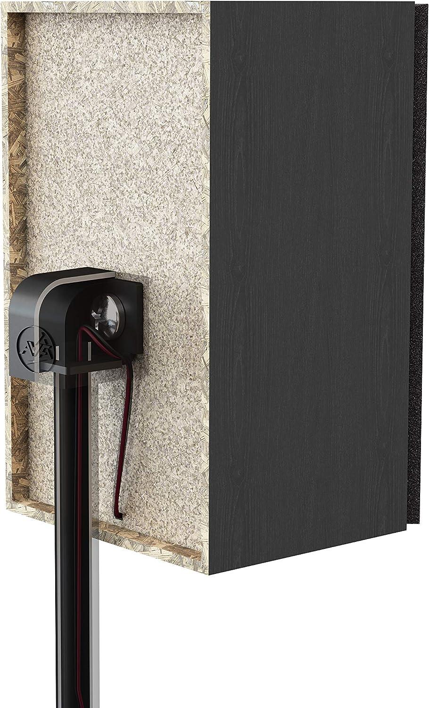 Metal Base Pair Mahara Surround Sound Speaker Stand Black