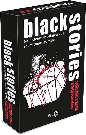 GENX Black Stories: Casos Sangrientos - Juego de Mesa [Castellano]: Amazon.es: Juguetes y juegos