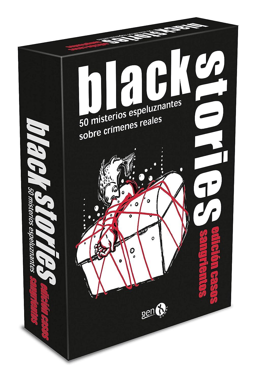 GENX Black Stories: Casos Sangrientos - Juego de Mesa [Castellano ...