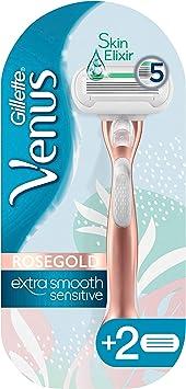 Gillette Venus Extra Smooth Sensitive - Maquinilla de afeitar con ...