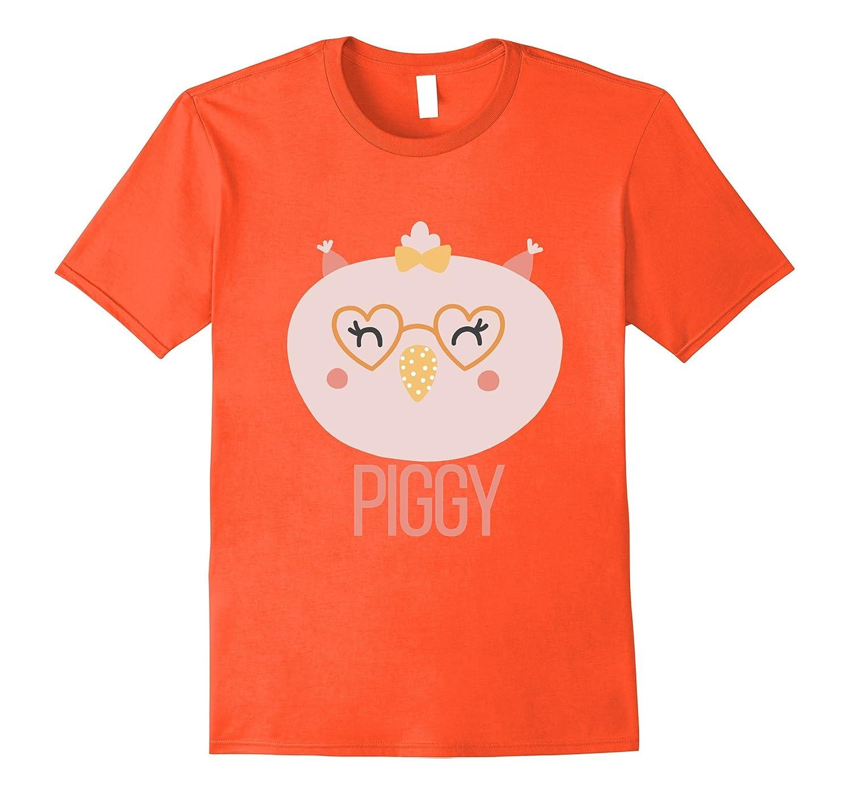 1st 100 Words PIGGY T-Shirt Baby Loves Animal Eyes Smile Pig