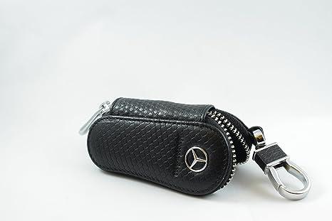 Amazon Com Luxury Car Key Holder Case Mercedes Hc0023 Everything
