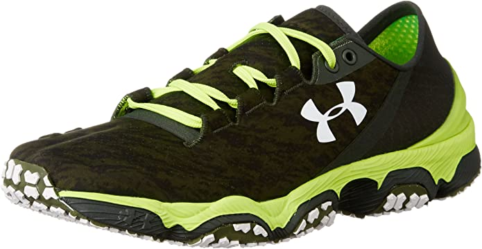 Under Armour UA Speedform XC - zapatillas de running de material sintético hombre, color verde, talla 46: Amazon.es: Zapatos y complementos