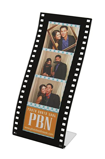 100 curvy film strip photo booth frames for 2x6 photo strips