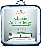 Tontine Classic Anti-Allergy Luxe Classic Anti-Allergy Mattress Protector, Single Bed