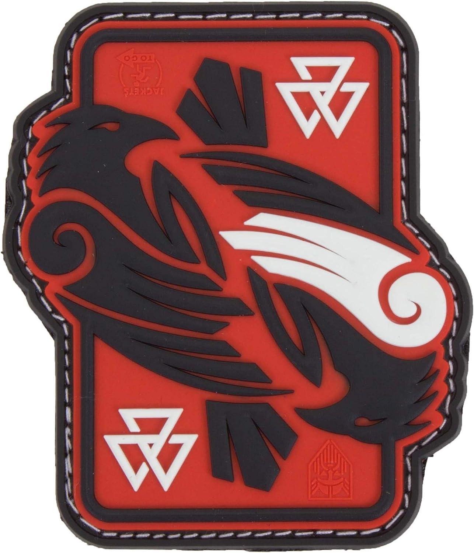redsky 3D Rubber Patch Jackets To Go Odins Raven