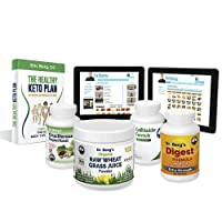 Dr. Berg's Liver Body Type Kit Supplement - All Natural Liver Cleanse Detox & Repair...