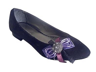 Kadiman Bailarinas de Piel para mujer Negro negro 40 color Negro ... 64650211e1e0