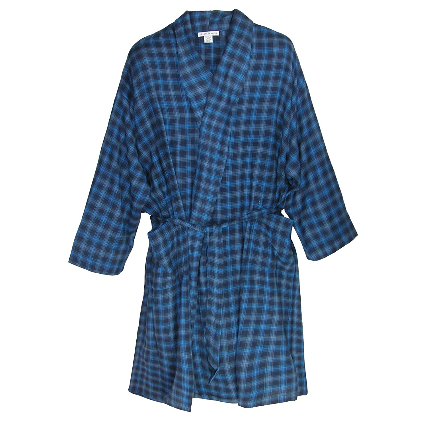 Geoffrey Beene Men's Big and Tall Flannel Robe 2450111