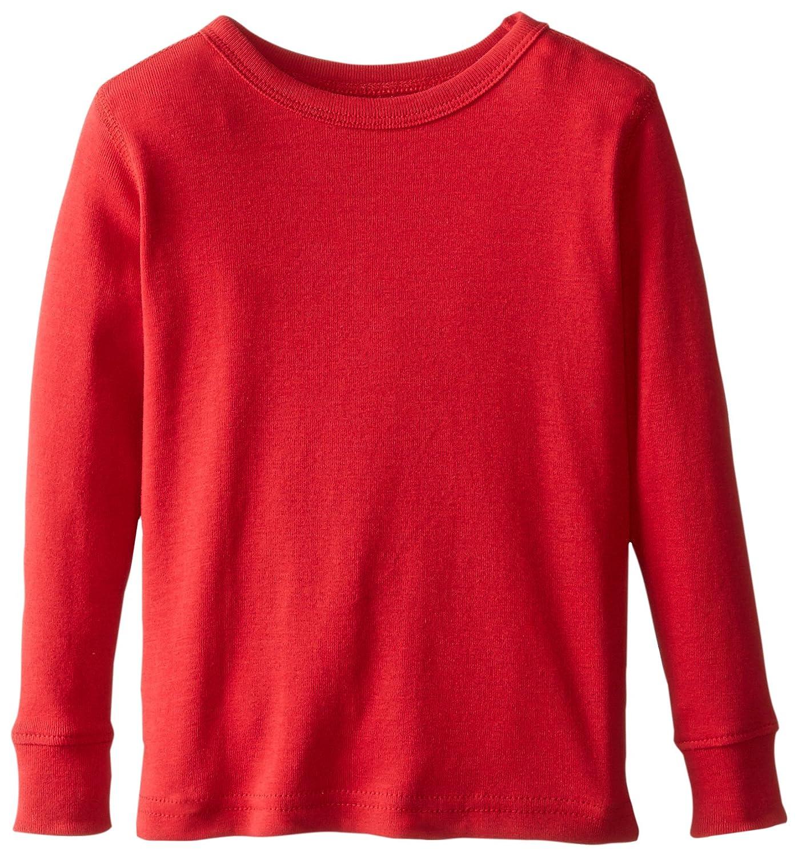 Amazon.com: Leveret Long Sleeve Solid T-Shirt 100% Cotton (Size 2 ...