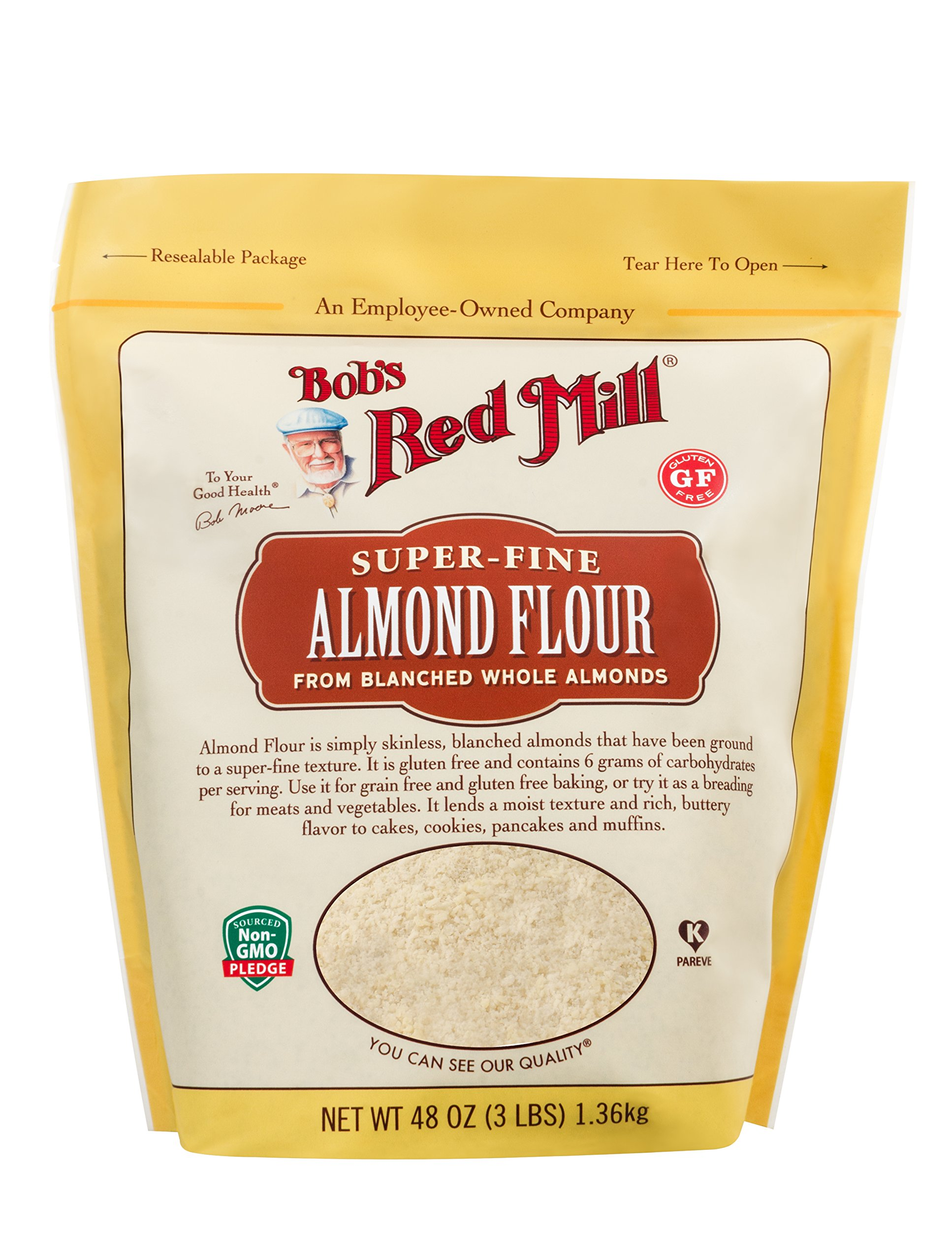 Super-Fine Almond Flour (3 Pound) by Bob's Red Mill