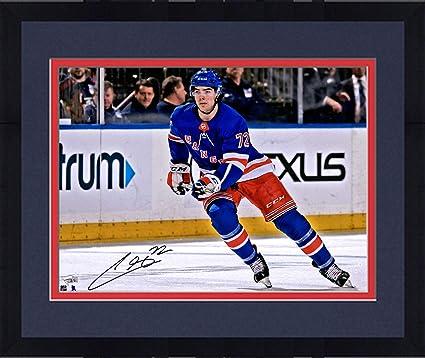 1805ee835a2 Framed Filip Chytil New York Rangers Autographed 16