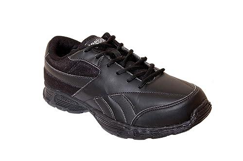 Reebok Men s Racer II LP School Black Formal Shoes  Buy Online at Low  Prices in India - Amazon.in 9d6db2c6c