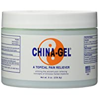 China Gel Topical Pain Reliever 8 oz Jar