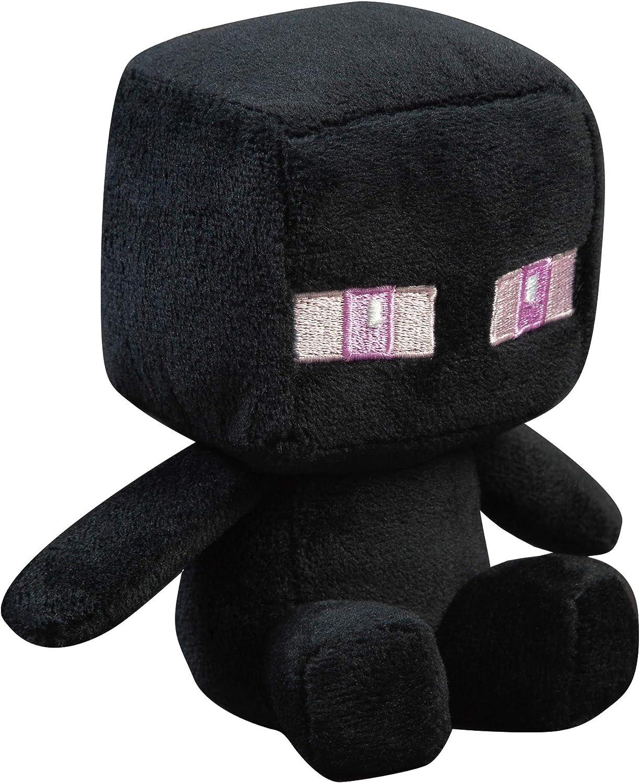 """JINX Minecraft Mini Crafter Enderman Plush Stuffed Toy, Black, 11.11"""" Tall"""