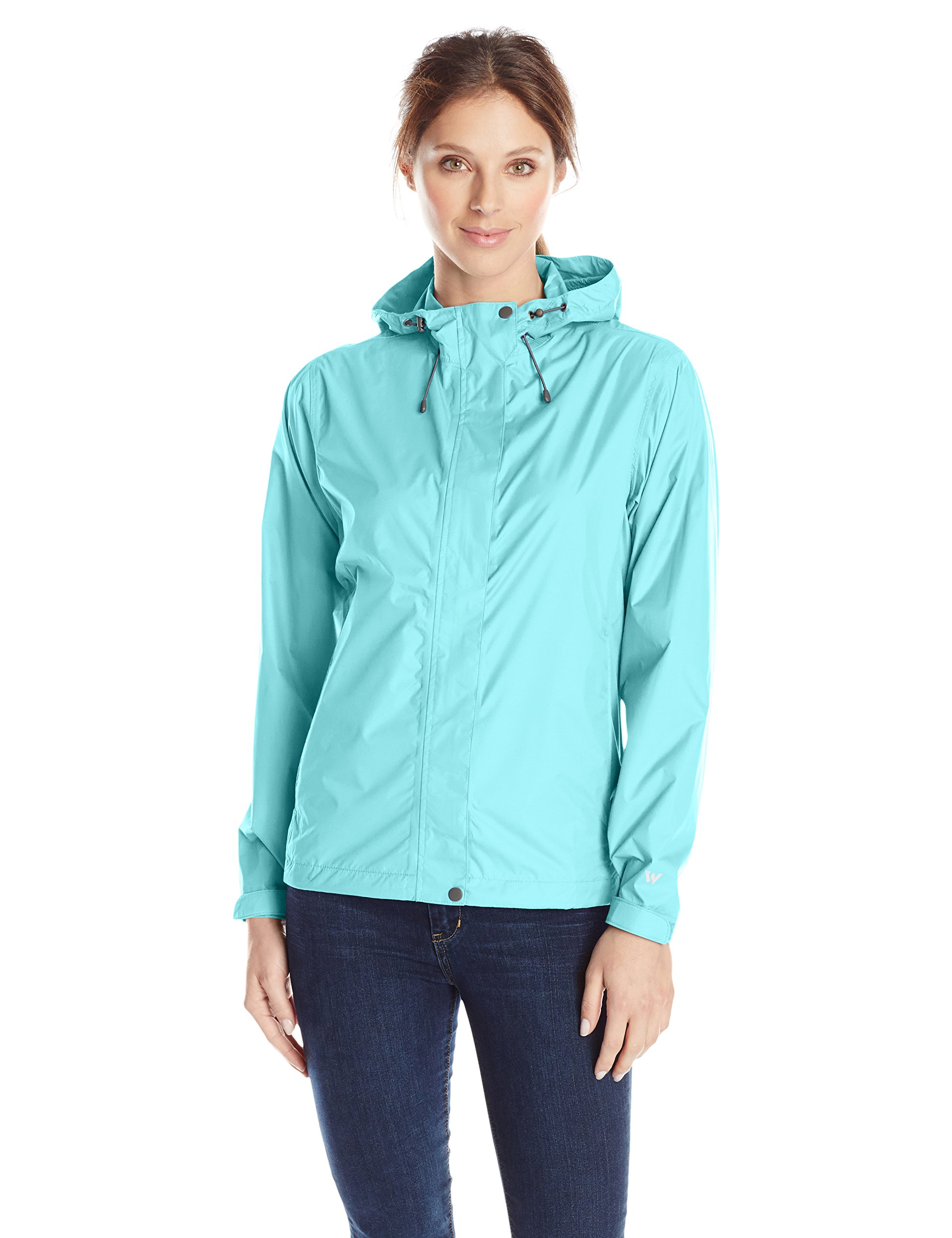 White Sierra Women's Trabagon Rain Shell, Blue Radiance, Large