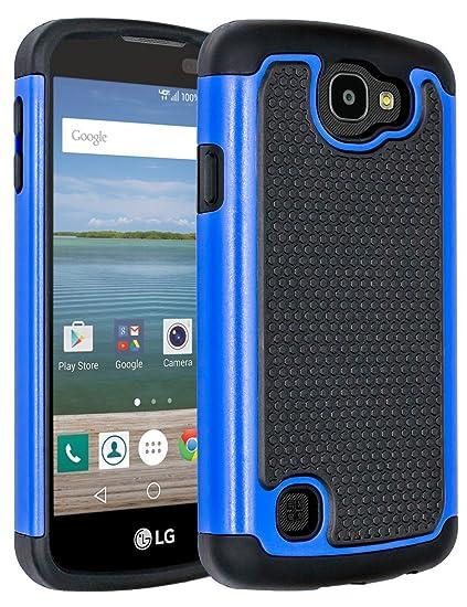 buy popular 35550 63697 LG Optimus Zone 3 Case,LG Rebel VS425 Case,LG K4 Case,LG Spree  Case,ANLI(TM)[Shockproof Series] Drop Protection Hybrid Dual Layer Armor  Defender Case ...
