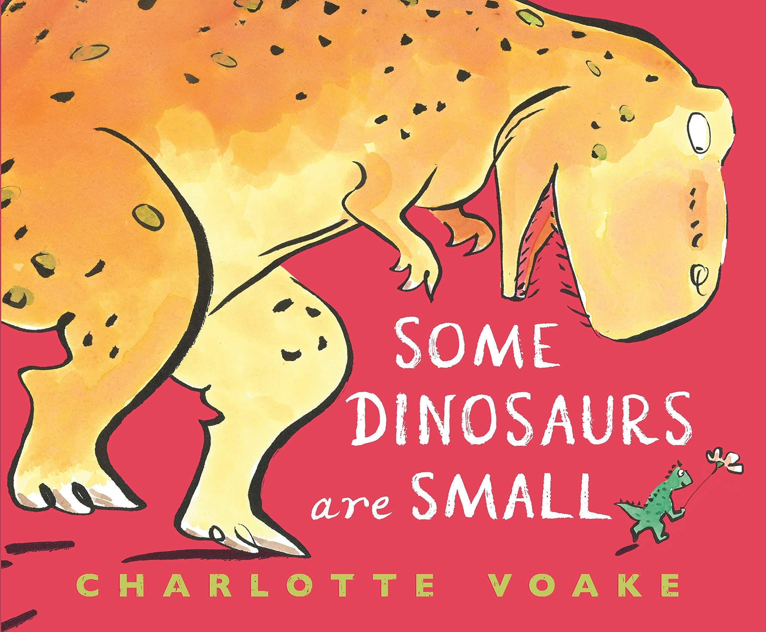 Some Dinosaurs Are Small: Voake, Charlotte, Voake, Charlotte:  9781536209365: Amazon.com: Books