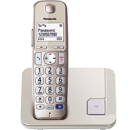 Panasonic KX-TGJ310SPW- Teléfono fijo inalámbrico (LCD color, agenda de 250 números, bloqueo de llamadas, modo ECO Plus, modo No Molestar), color blanco: BLOCK: Amazon.es: Electrónica