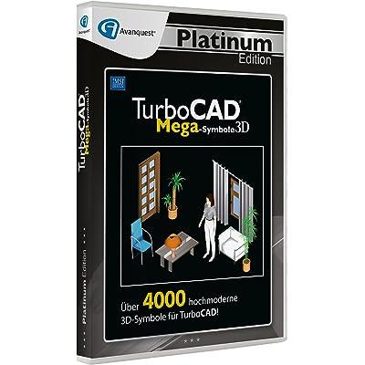 Avanquest Software TurboCAD 3D Mega Symbole Platinum Edition