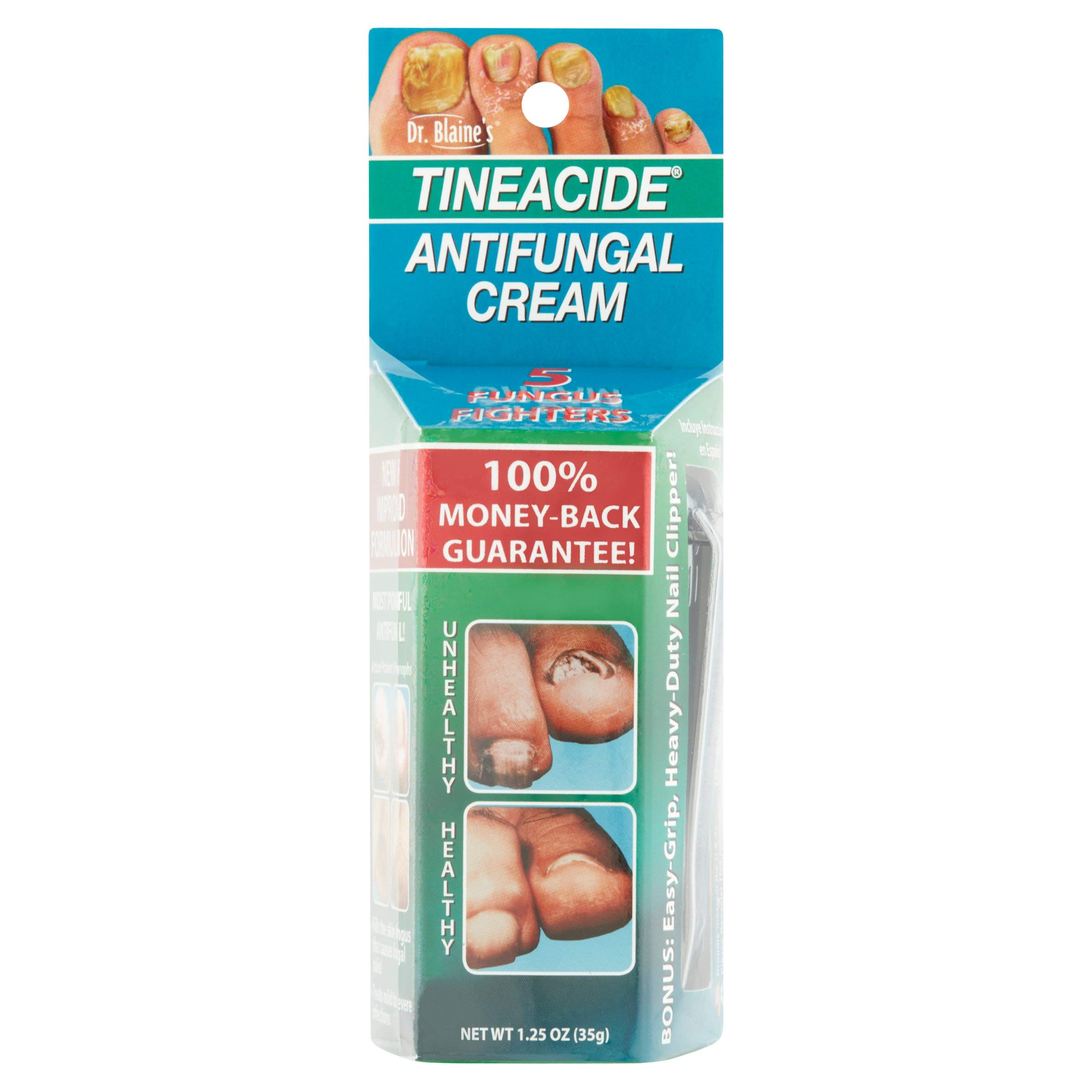 Tineacide Antifungal Cream, Pack of 4 by Tineacide