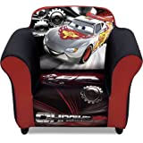 Delta Children Plastic Frame Upholstered Chair, Disney/Pixar Cars