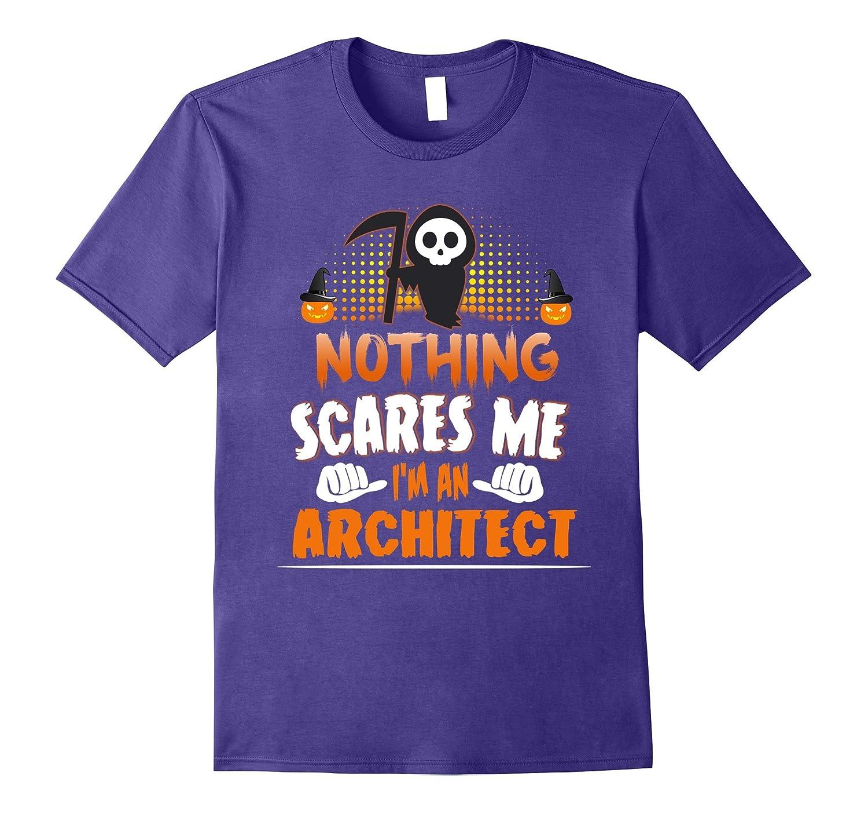 Architect - Nothing Scares Me Halloween Job Funny Tee Shirt-TJ