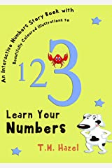 Children's Books: NUMBERS BOOK (Beautifully Illustrated Learn Numbers Picture Book To Help Your Toddler or Baby To Learn Numbers. Perfect For 3-5 Year Old): Perfect For Preschool Kindle Edition