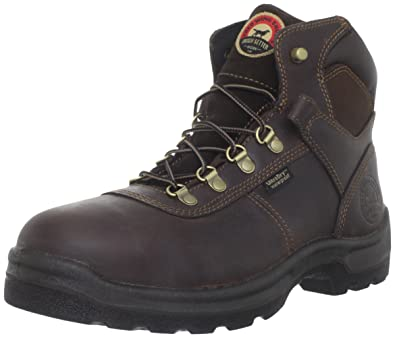 Men's Irish Setter® 10 inch Waterproof Hammerhead Safety Toe Work Boots,  Brown