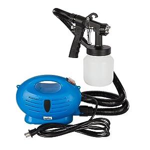 Paint Zoom Handheld Electric Spray Gun Kit   625 watt Spray Gun Tool for Interior & Exterior Home Painting HVLP