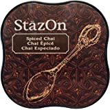 Imagine Crafts Tsukineko StazOn Midi Ink Pad, Spiced Chai