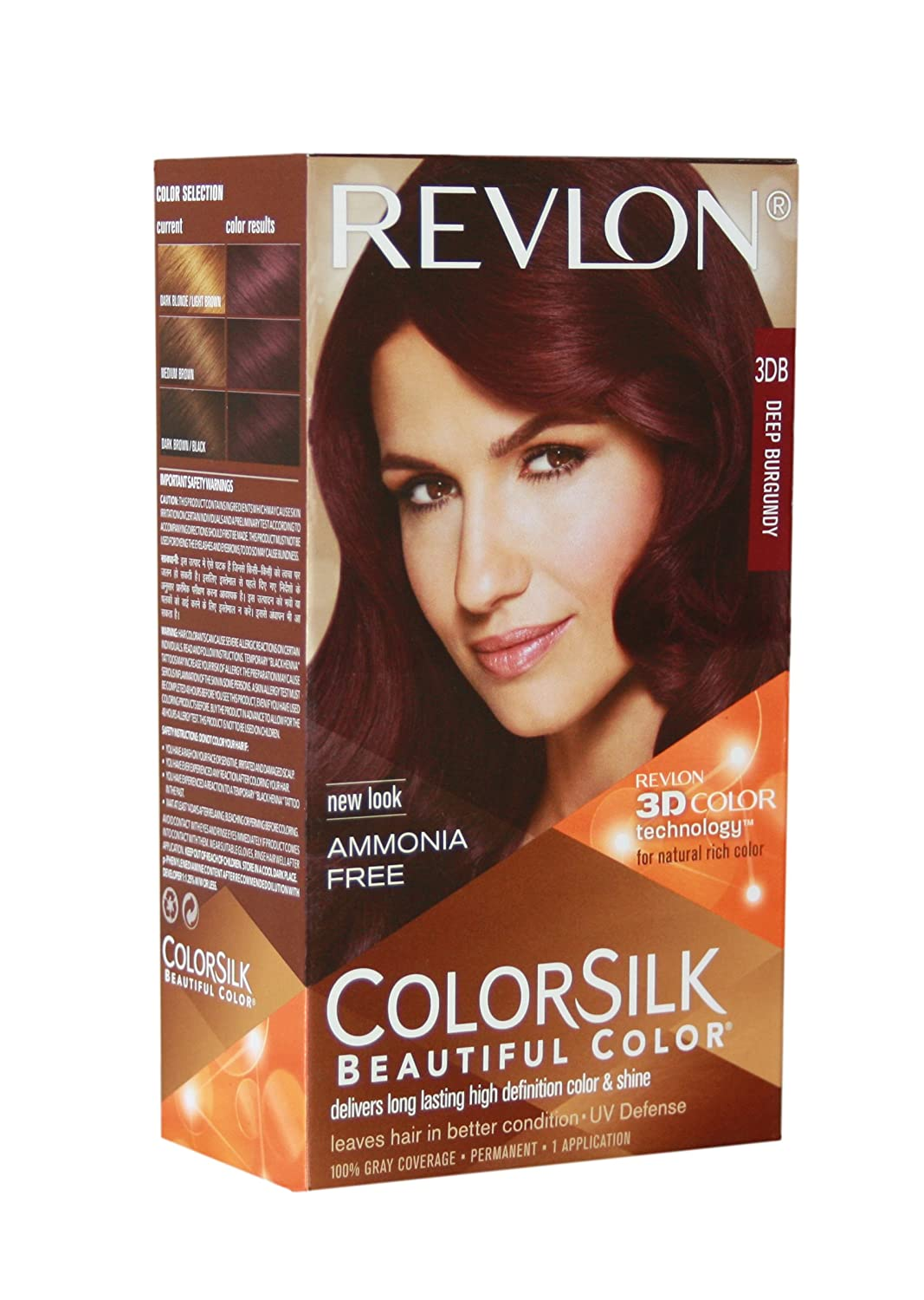 Buy Revlon Colorsilk Hair Color 3 Deep Burgundy Online At Low Prices In India Amazon In