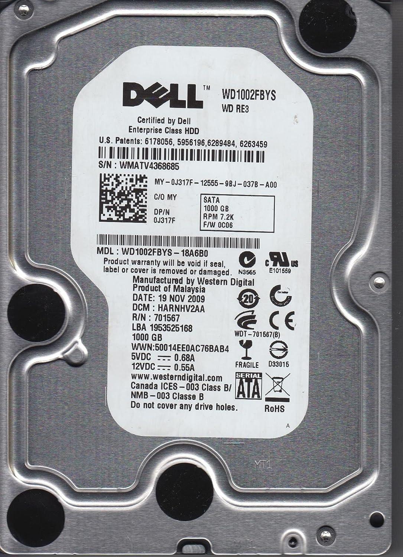 """Western Digital WD1002FBYS RE3 32MB Cache 7200rpm 1000gb 3.5/"""" Sata hard drive"""