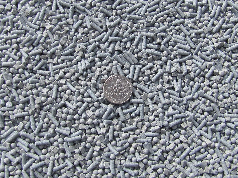 3 /& 4 mm Fast Cutting Abrasive Triangle Ceramic Porcelain Tumbling Tumbler Tumble Media 2 5 Lb