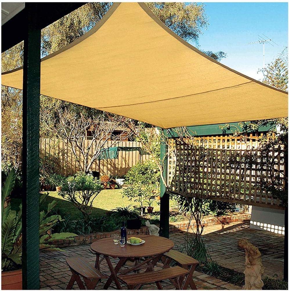 Vela de sombra toldo vela Para jardin patio Rectángulo Velas Sombreadas, 185 GSM Sombras Más Gruesas Sombras Protectoras Tienda Neta de la Sombra Pantalla 95% UV para Terraza Pérgola Patio Trasero Ins: