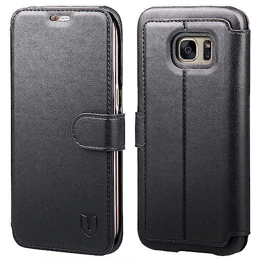 102 opinioni per TANNC Cover Samsung Galaxy S7 edge in Pelle Con Magnete e Supporto Orizzontale