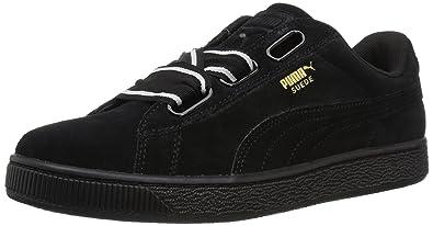 best sneakers 9381b ad404 PUMA Women's Suede Heart Satin Wn Sneaker