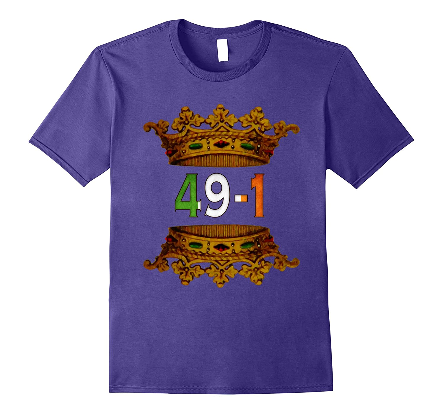 49-1 49 and 1 Crown T-Shirt 5 Color Options-PL