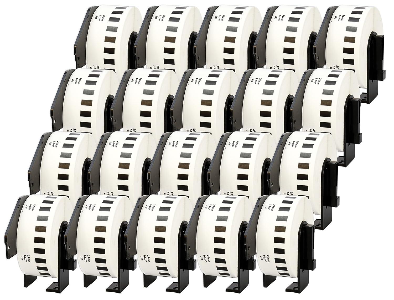 10x DK-11201 29 x 90 mm Adressetiketten (400 Stück Rolle) kompatibel für Brother P-Touch QL-1050 QL-1060N QL-1110NWB QL-1100 QL-500 QL-500BW QL-570 QL-580 QL-700 QL-710W QL-800 QL-810W QL-820NWB B074S28DNN   Online einkaufen