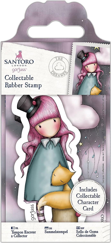 54 Sweetheart Docrafts GO907157 Santoros Gorjuss Rubber Stamp No