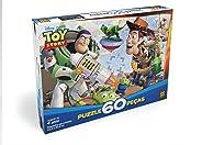 Quebra-cabeça 60 Peças Toy Story 3 Infantil, Grow, Multicor