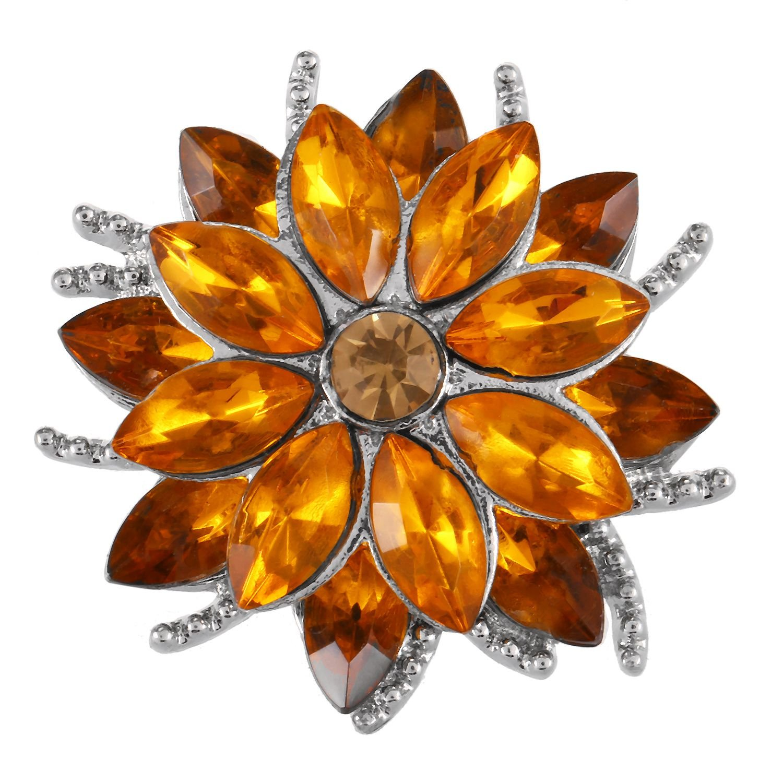 TOOGOO 18mm Snap Button Women Charm Bracelet Snap Jewelry KC5401 Champagne