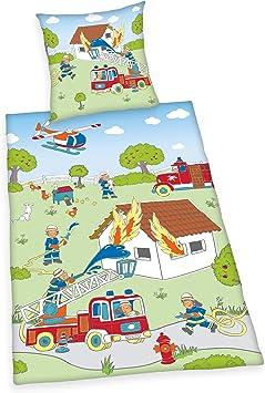 Multicolore Herding Young Collection Parure de Lit 140 x 200 cm Cotton 63 x 63 cm
