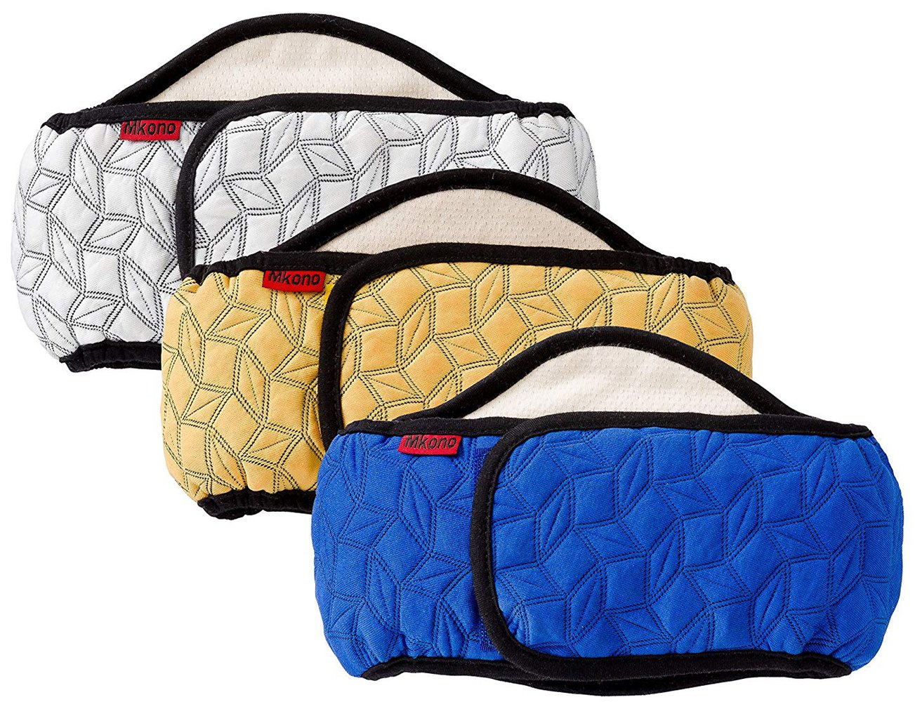 Mkono Male Dog Belly Band Wraps Washable Diapers for Small and Medium Dogs(3 Pack) by