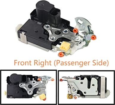 Amazon Com Front Right Passenger Side Door Lock Actuator Motor For Cadillac Escalade Chevy Chevrolet Avalanche Silverado Suburban Tahoe Gmc Sierra Yukon 931 319 15110644 15053682 15068500 Automotive